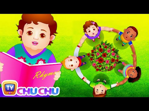 Ring Around The Rosie (Rosy)   Cartoon Animation Nursery Rhymes & Songs for Children   ChuChu TV
