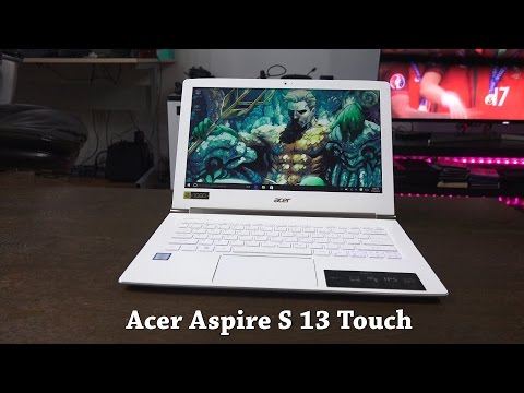 Acer Aspire S 13 Touch Review: Great Value!!!