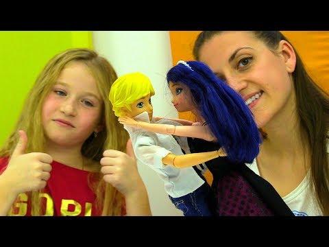 Игры для девочек. Куклы Леди Баг идут на вечеринку.