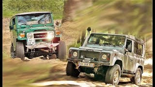 Toyota VS Land Rover - 4WD