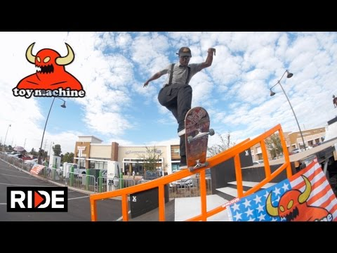 Collin Provost, Dan Lu, and More - Toy Machine Halloween