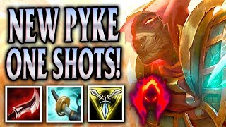 DANK DAMAGE DARK HARVEST SAND WRAITH PYKE JUNGLE! - League of Legends S8
