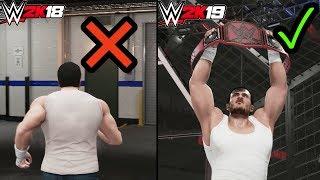 7 Reasons Why WWE 2K19 My Career Mode Is Better Than WWE 2K18 My Career Mode