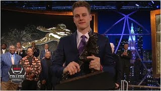 Joe Burrow wins the 2019 Heisman Trophy | College Football on ESPN