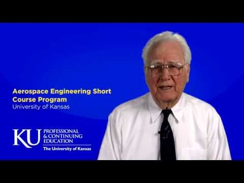 KU Aerospace Short Courses Program Intro with Dr. Jan Roskam