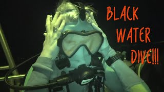 SCARIEST Dive Yet  - Midnight ocean SCUBA in 5,000 ft of water! Sailing Vessel Delos Ep. 223