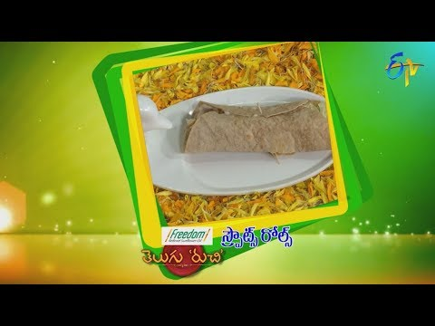 Sprouts Rolls | Telugu Ruchi | 17th September 2018 | ETV  Telugu