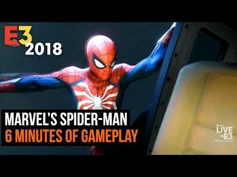 Marvel's Spider-man E3 2018 gameplay presentation