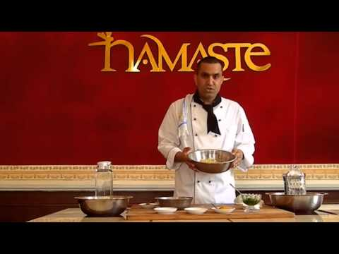 Cooking with Kumar at Namaste Restaurant: Paneer Pakora