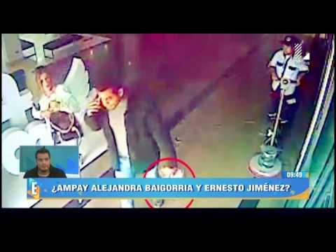 ¿Alejandra Baigorria Y Ernesto Jiménez Son Ampayados En Una Discoteca?