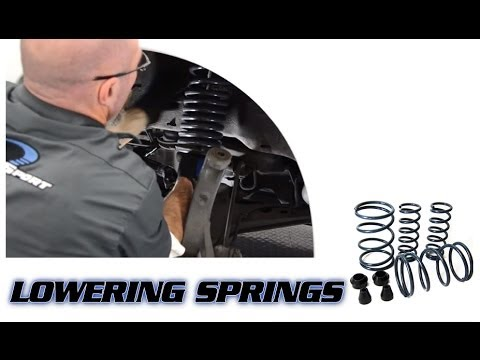 Lowering Springs - Presented by Andy's Auto Sport