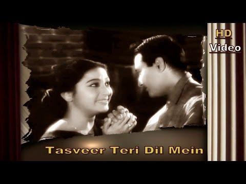 Tasveer Teri Dil Mein   Suhane Pal   Maya 1961   Vipin Sachdeva...
