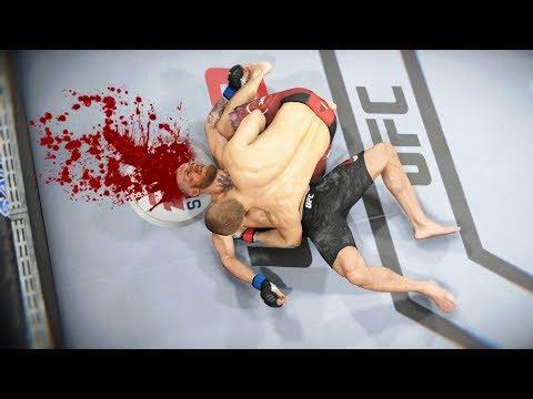 СМЕРТЕЛЬНЫЙ БРОСОК в UFC 3