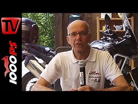 Honda Africa Twin 2016 | maximale Schräglage und Bereifung | Varahannes Dauertest Teil 5