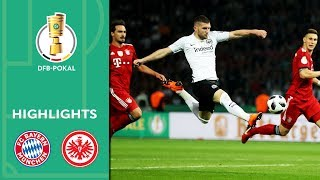 Thrill, VAR, Overtime | FC Bayern vs Eintracht Frankfurt 1-3 | Highlights | DFB Cup Final 2017/18