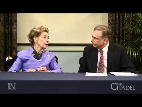 Political Activist Phyllis Schlafly Speaks to Citadel Cadets