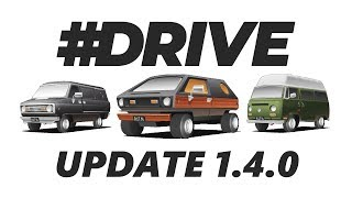 #Drive - Update 1.4.0! (5 New Cars, Challenges)
