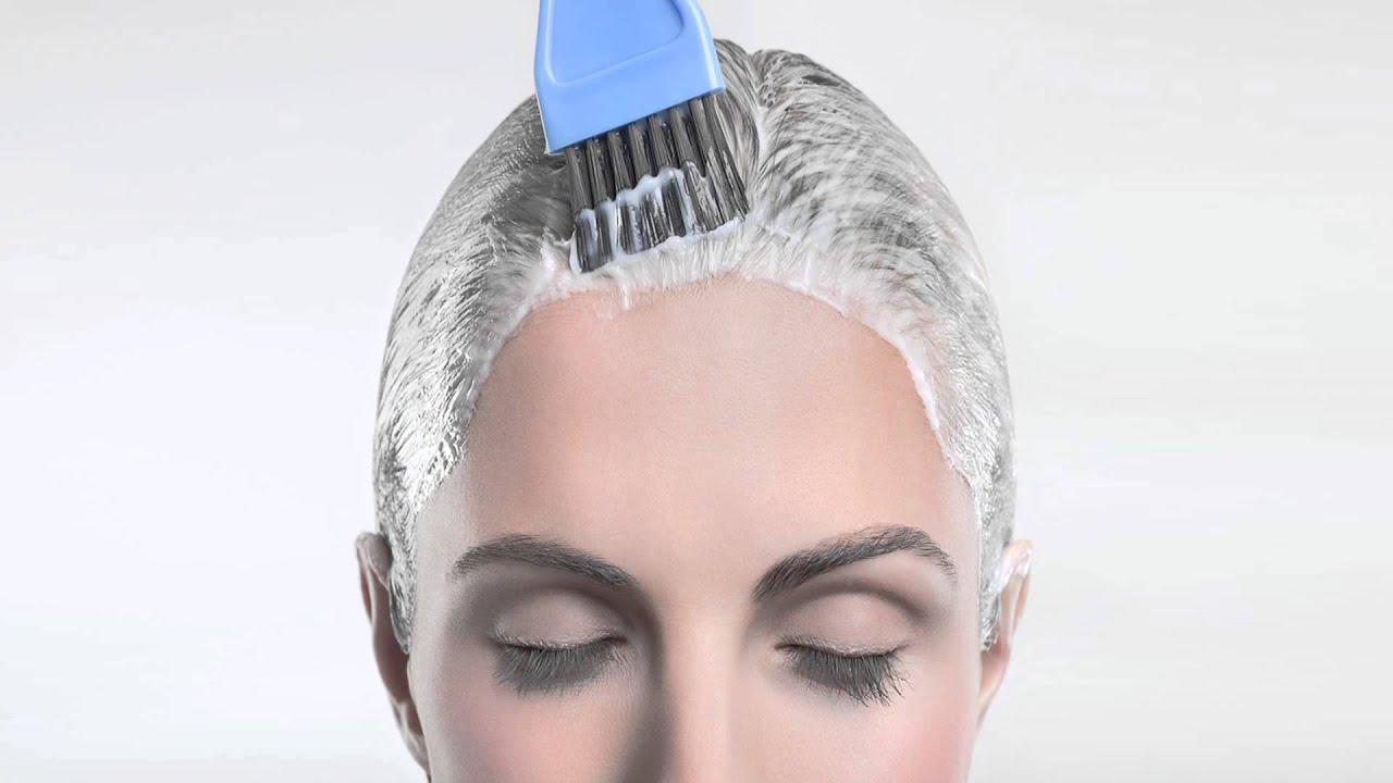 Как покрасить волосы временной краской в домашних условиях