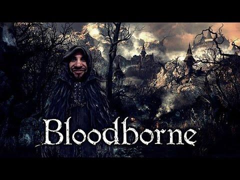 Bloodborne - Perdido mas achado, caminho da floresta tava ruim de achar.