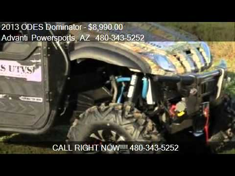 2013 ODES Dominator Side By Side Utv - for sale in MESA. AZ
