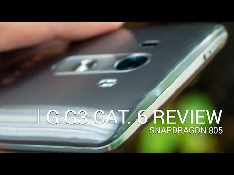 LG G3 Cat. 6 (Snapdragon 805) video walkthrough