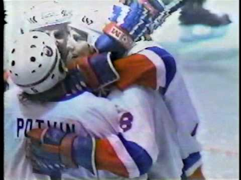 Montreal Canadiens at New York Islanders Game 6 1984