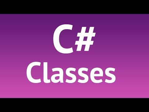 C# Classes Tutorial