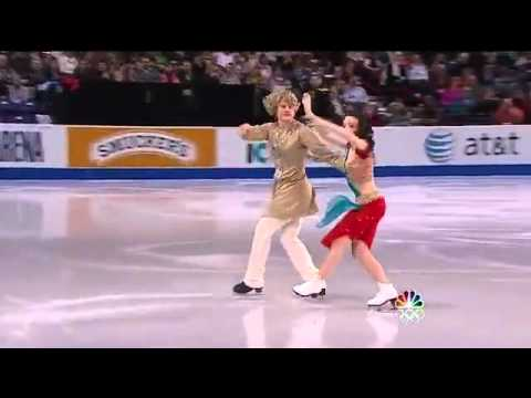 Indian dance on ice