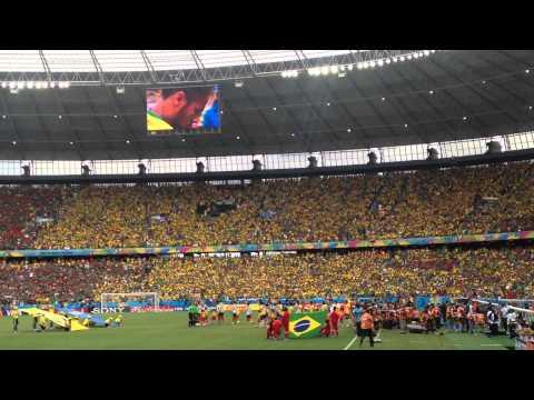 Himno Mexico vs Brasil