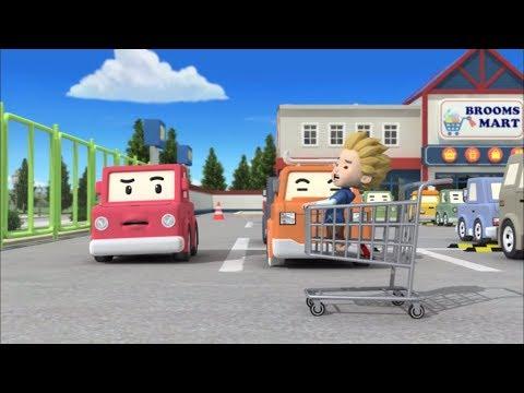 Робокар Поли -  Правила дорожного движения (серия 14) - Как вести себя на парковке