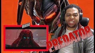The Predator Official Trailer REACTION!!