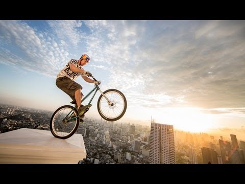 Trials Biking, Freestyle Football &amp; BMX Flatland - Red Bull Launch 2013 Thailand
