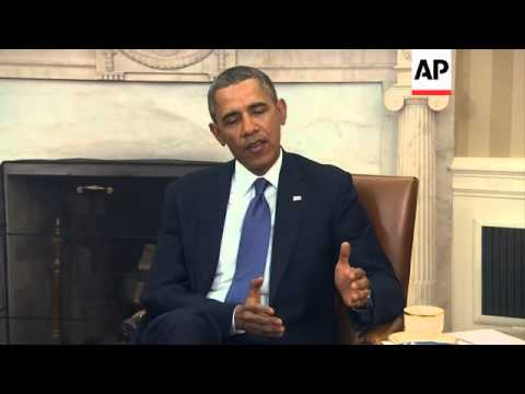 President Obama warns Russia over its actions in Ukraine