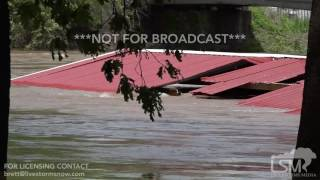 04-30-2017 Joplin, MO Flooding Aftermath - Submerged Homes, Roads, and Cars