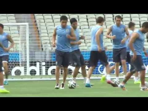Luis Suarez verpasst WM-Auftakt | Uruguay - Costa Rica | FIFA WM 2014 Brasilien