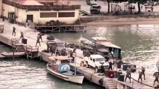 Expendables Dock Scene