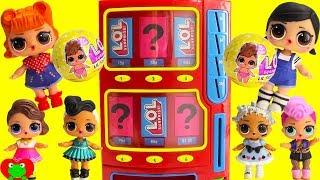 LOL Surprise Lil Sisters Series 3 Vending Machine Surprises Wrong Clothes