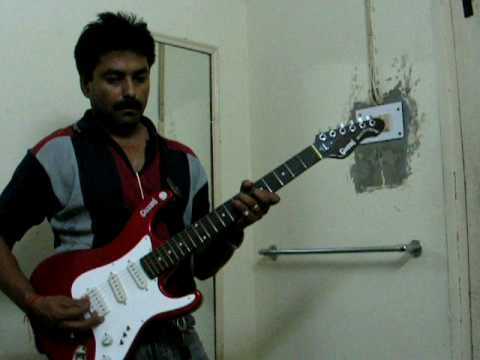 chand mera dil chandni ho tum on guitar