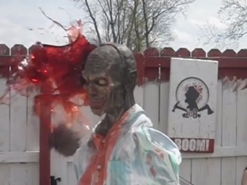 Bloodiest Show on Youtube!  Zombie Go Boom!