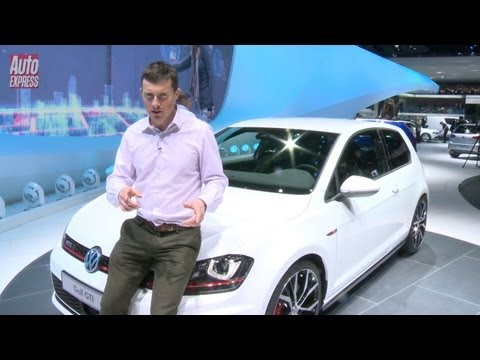 Volkswagen Golf GTI at the 2013 Geneva Motor Show - Auto Express