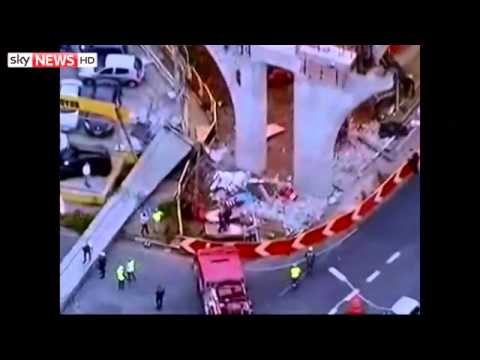 One Killed As Monorail Collapses In Brazil(1:41am)