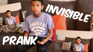 CONVINCED OUR COUSIN HE IS INVISIBLE! (PRANK)