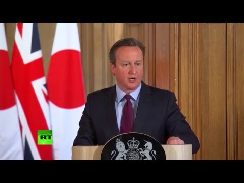 Cameron on £5bn EU-Japan trade deal