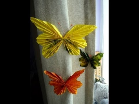 Craft ideas spring butterflies youtube for Arts and crafts for seniors
