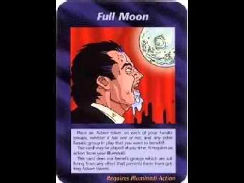 Full Moon Cards Illuminati Card 411 Full
