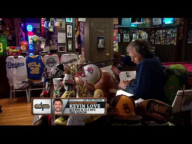 Kevin Love on The Dan Patrick Show (Full Interview) 03/23/2015