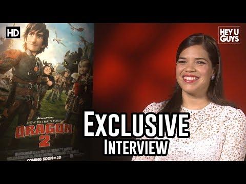 America Ferrera Interview - How to Train Your Dragon 2