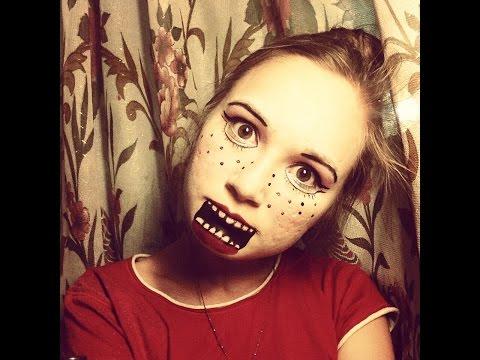 Фото легкий макияж на хэллоуин
