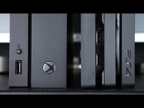 PS4 PRO Заслужава ли си? VS Xbox One X