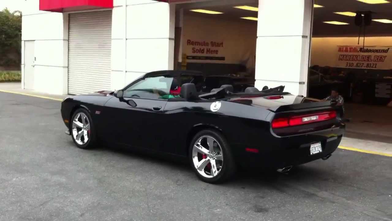 2011 Dodge Challenger Convertible top Conversion AL & ED's ...